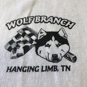 Wolf Branch Hanging Limb, TN White Short Sleeve XL